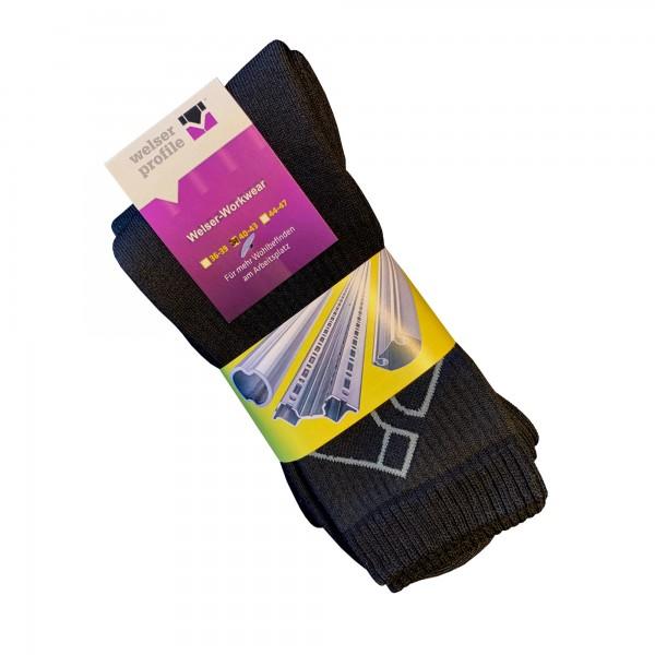 Welser-Socken, 3er Pack