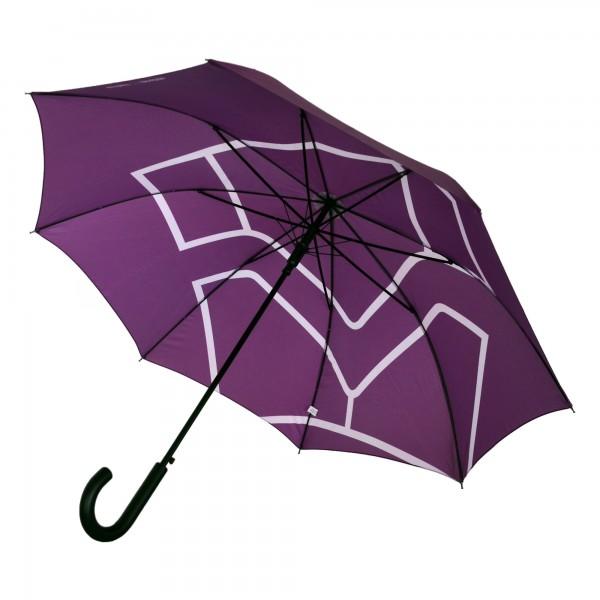 Stockschirm, violett