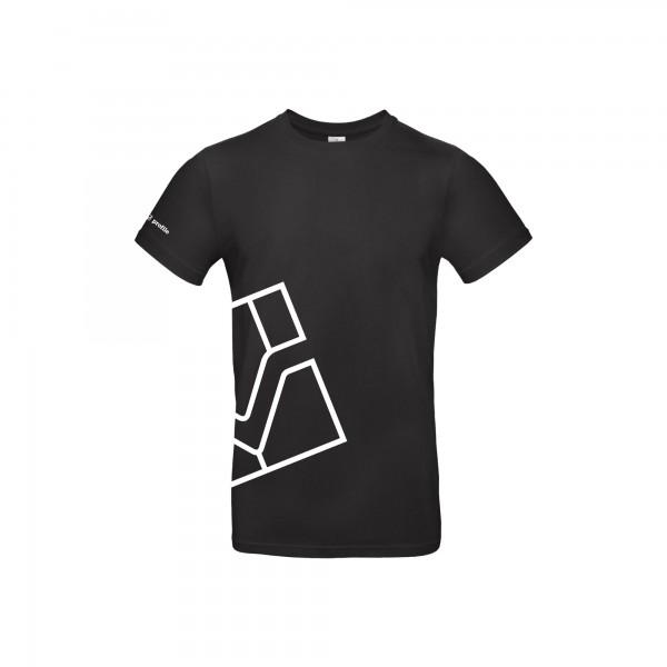 Kinder T-Shirt, schwarz