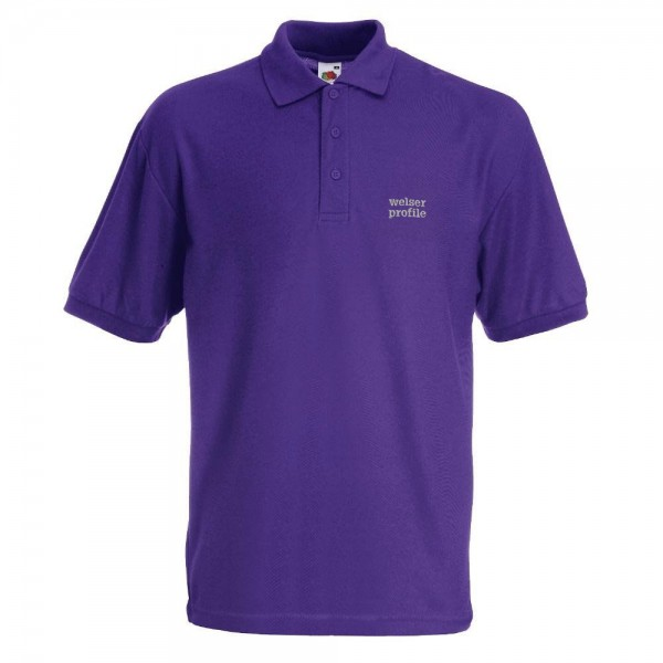 POLO-SHIRT unisex violett
