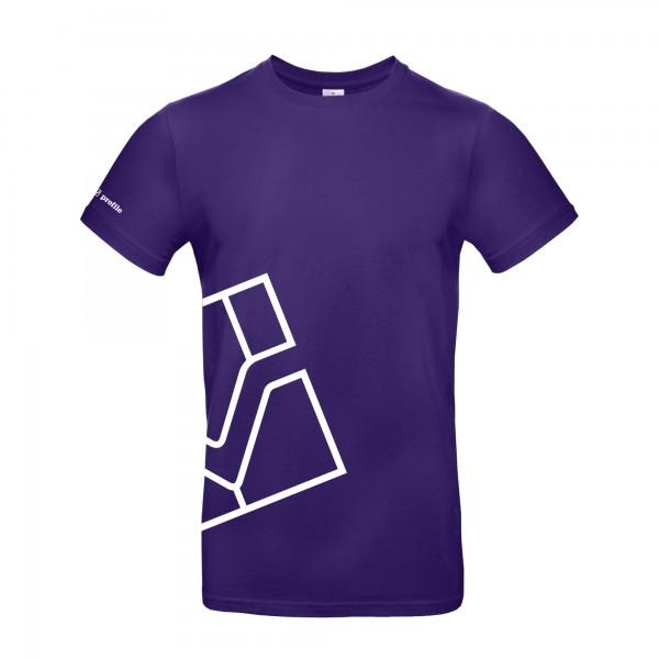 T-Shirt, violett