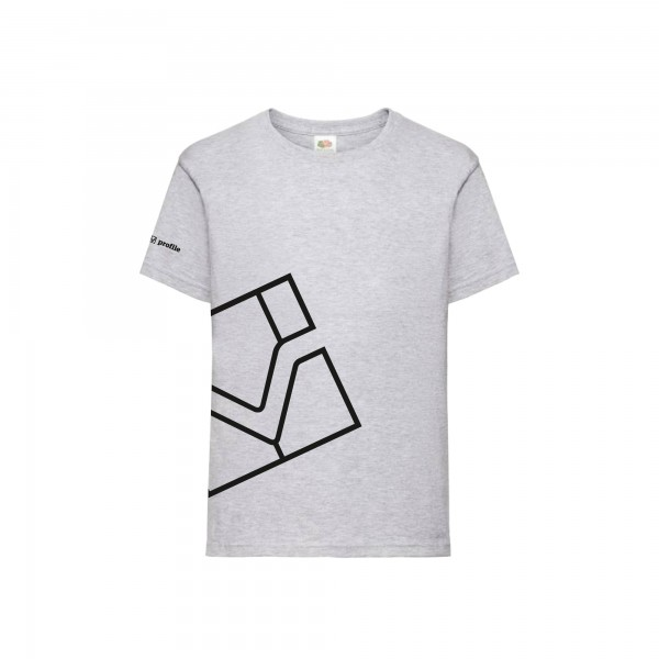 Kinder T-Shirt, hellgrau