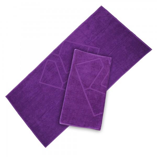 Duschtuch, violett